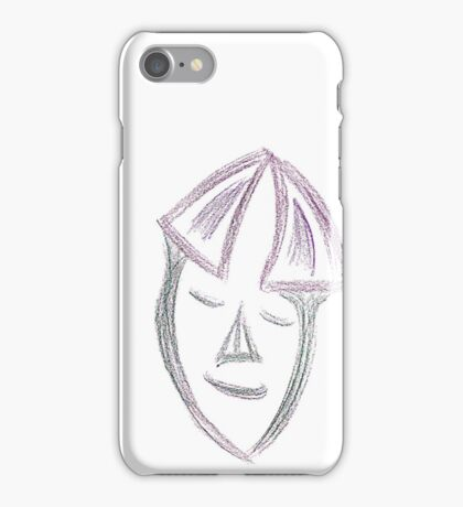 Contemplative Countenance iPhone Case/Skin