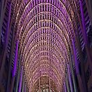 The Allen Lambert Galleria in Brookfield Place at Holiday Time by Gerda Grice