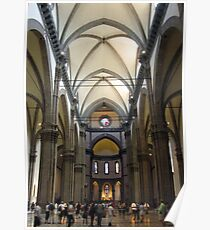 Inside Duomo Cathedral Poster