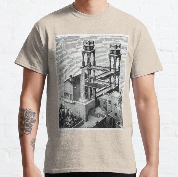 MC Escher Waterfall 1961 Artwork for Posters Prints Tshirts Men Women Kids Classic T-Shirt