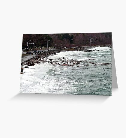 Ross Bay Storm Greeting Card