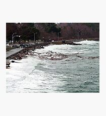 Ross Bay Storm Photographic Print