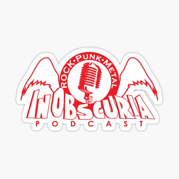 InObscuria Red Wings Logo Sticker