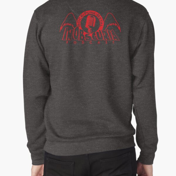 InObscuria Red Wings Logo Pullover Sweatshirt