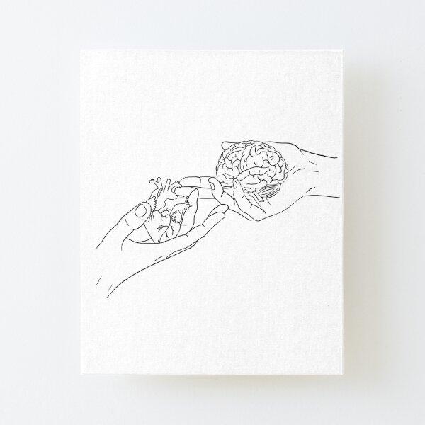 framed /& unframed Black and White Abdomen Anatomy Illustration vintage print