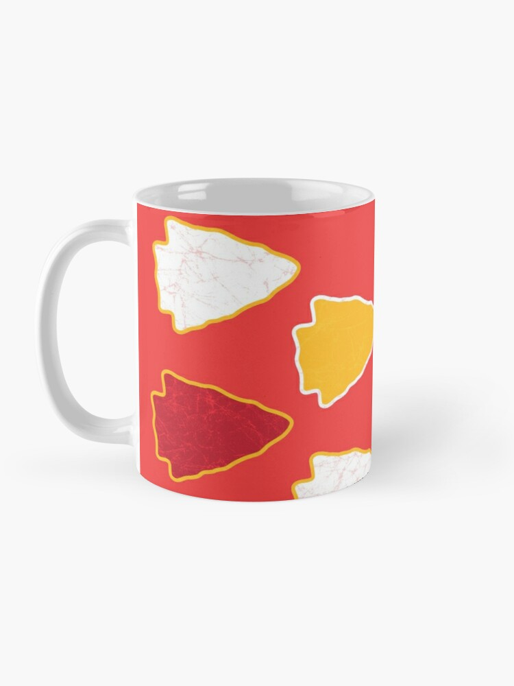 Alternate view of Arrowhead KC Football Kansas City Vintage Kc football Kingdom Kansas city Pro Gear Mug