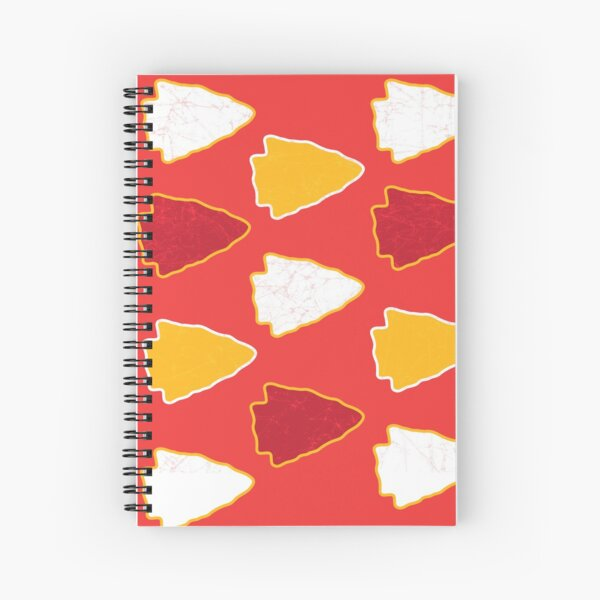 Arrowhead KC Football Kansas City Vintage Kc football Kingdom Kansas city Pro Gear Spiral Notebook