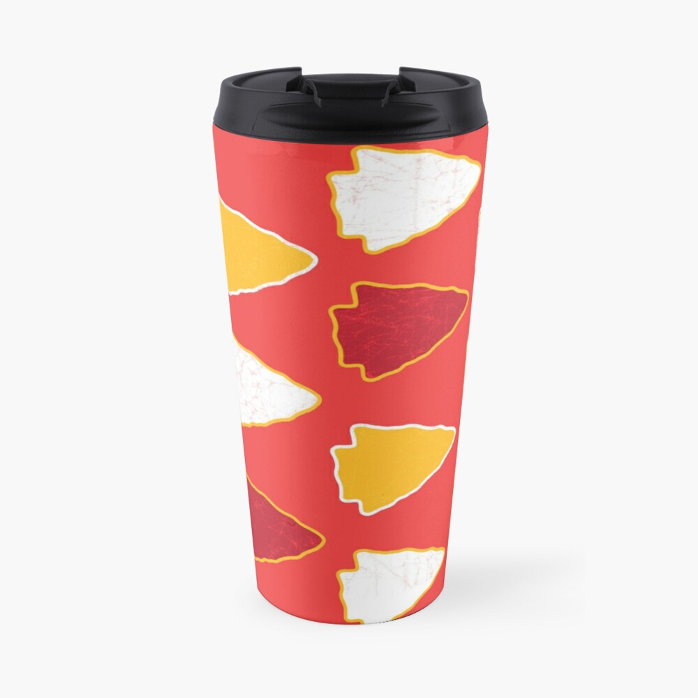Arrowhead KC Football Kansas City Vintage Kc football Kingdom Kansas city Pro Gear Travel Mug