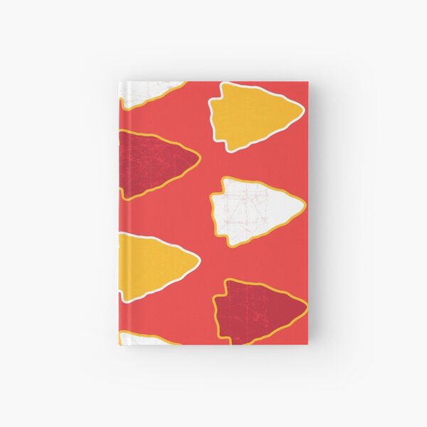 Arrowhead KC Football Kansas City Vintage Kc football Kingdom Kansas city Pro Gear Hardcover Journal