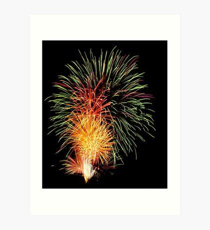 Explosive! Art Print