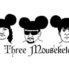 The Three Mouseketeers by ninjacafe