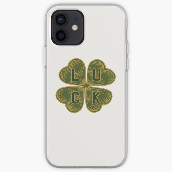 Happiness Clover iPhone Soft Case