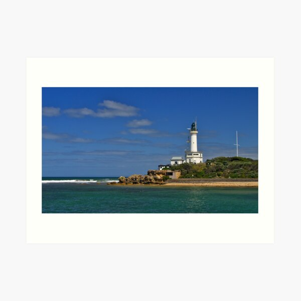 Point Lonsdale, lighthouse, Port Phillip Heads. Art Print