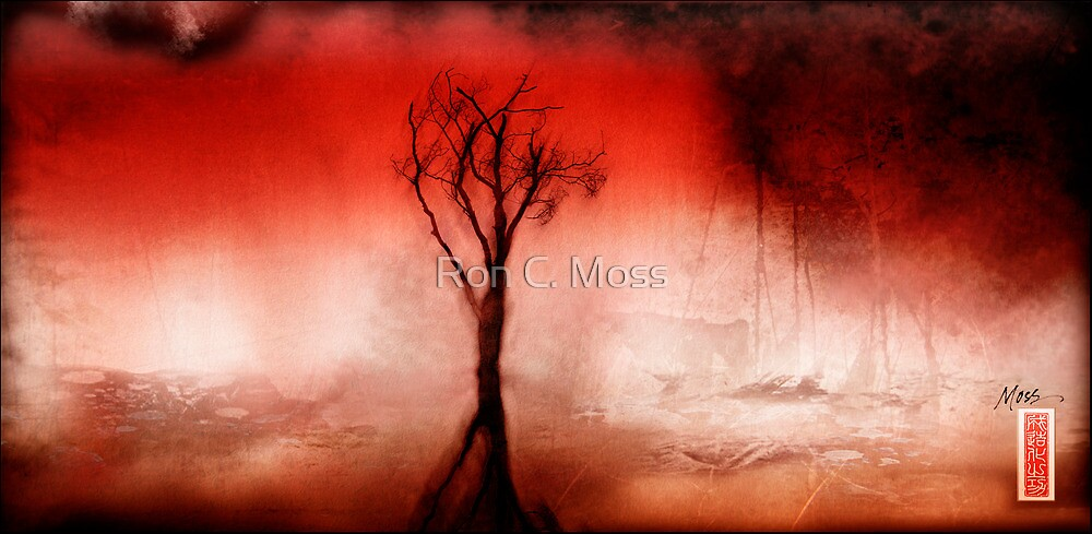 Red Tree Spirit by Ron C. Moss