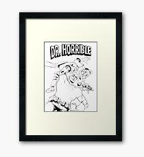 Dr. Horrible's Sing-Along Redbubble Framed Print