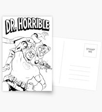 Dr. Horrible's Sing-Along Redbubble Postcards