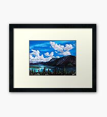 Bob Rossy Peaceful Landscape Painting Framed Print