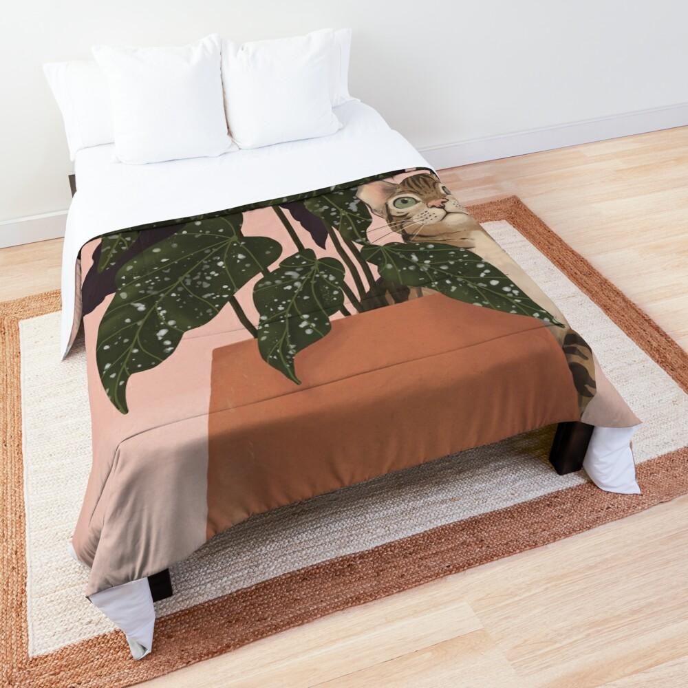 tiger at heart Comforter