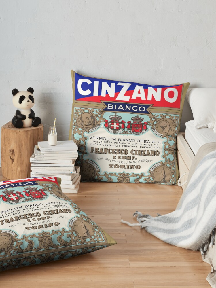 Alternate view of CINZANO Floor Pillow