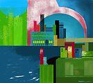 """City Across the Bay""  by Patrice Baldwin"