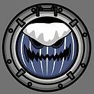 Halloween - Porthole Jack-o-Lantern Wave by AlwaysReadyCltv