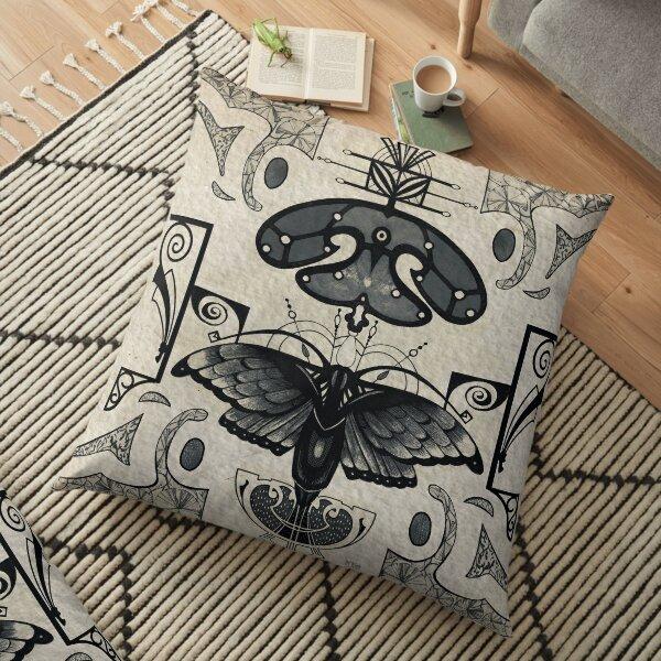 Art Nouveau Coussin de sol