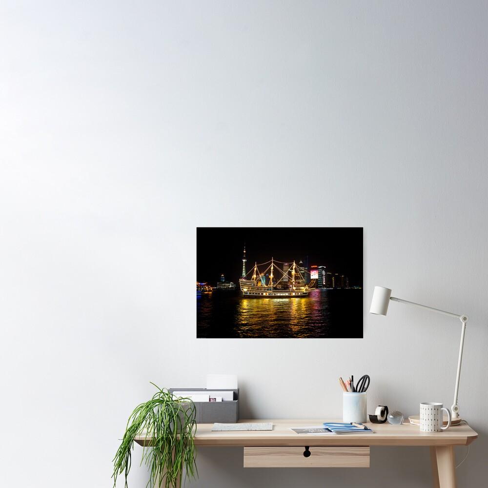 Shanghai Tall Ship Poster