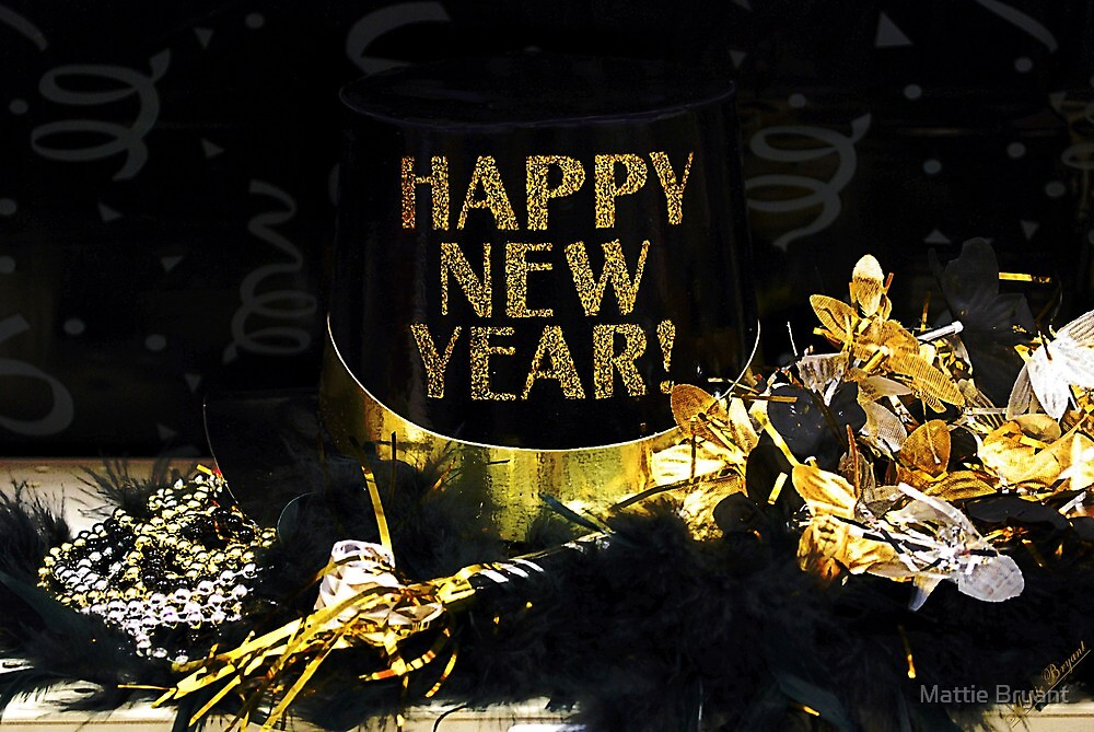 Happy New Year by Mattie Bryant