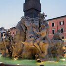 Piazza Navona -Fountain by Darrell-photos