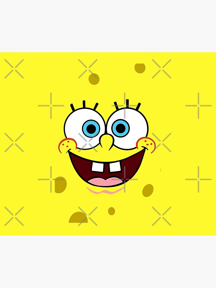 Spongebob Squarepants Face by ArtsyJulez