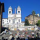 Spanish Steps - Rome by Darrell-photos