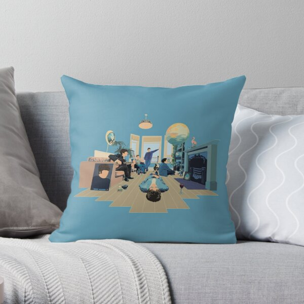 Defaybe Throw Pillow