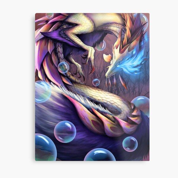 Soulseer Mizutsune - Monster Hunter Generations Ultimate Metal Print