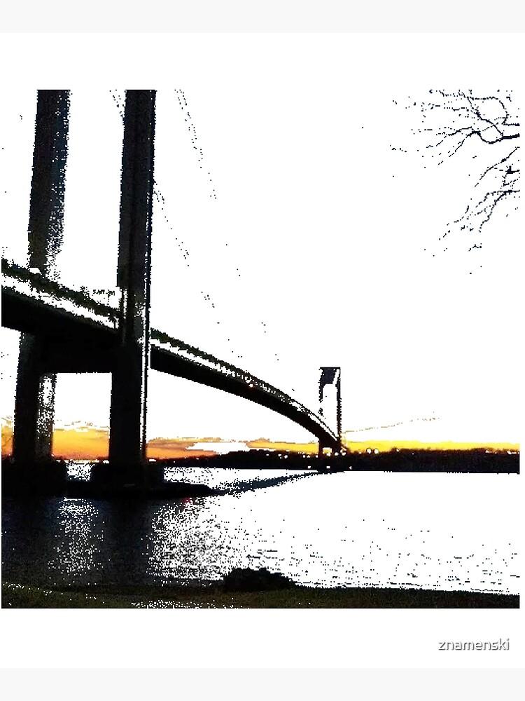 Verrazzano-Narrows Bridge by znamenski