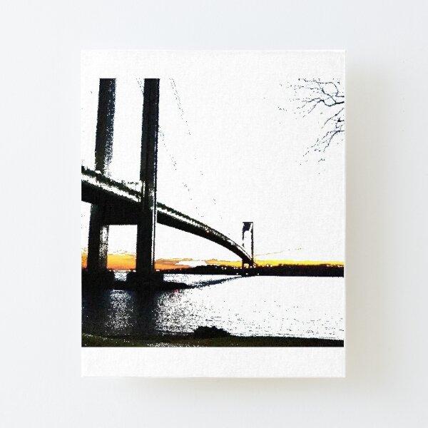 Verrazzano-Narrows Bridge Canvas Mounted Print