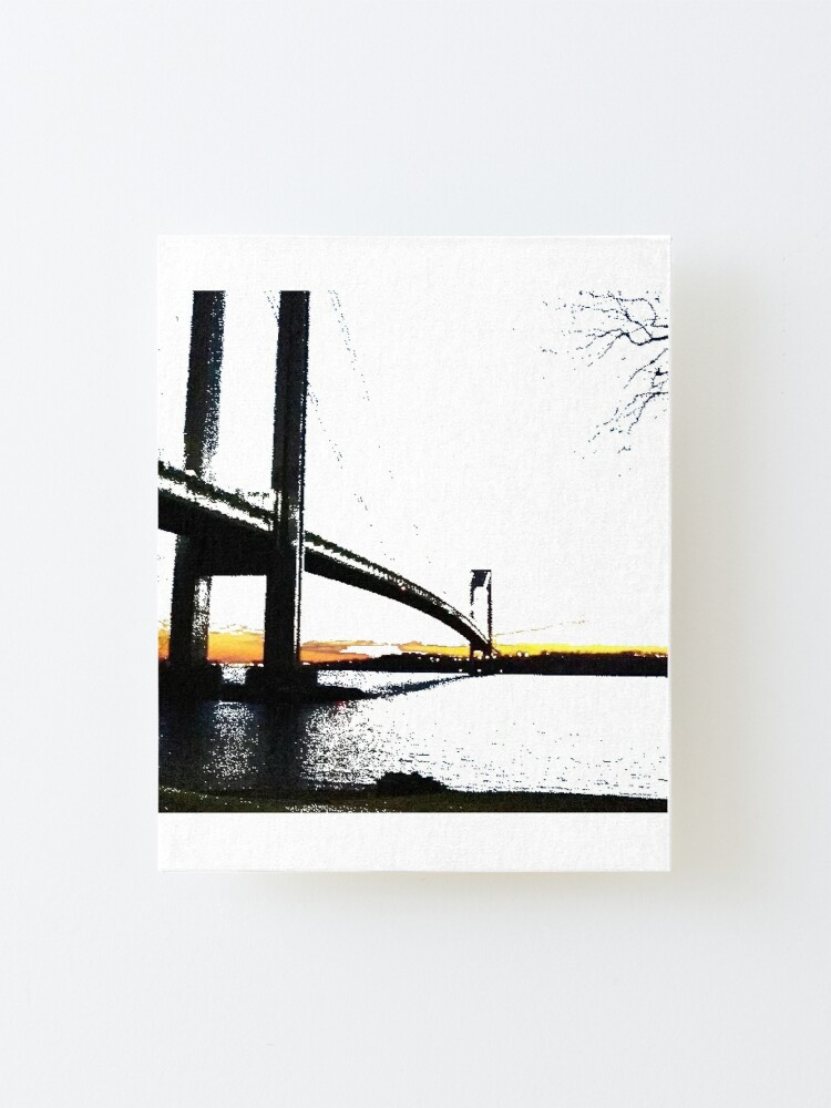 Alternate view of Verrazzano-Narrows Bridge Mounted Print