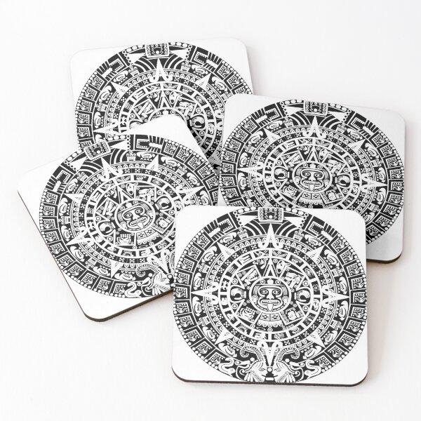 Aztec sun Coasters (Set of 4)