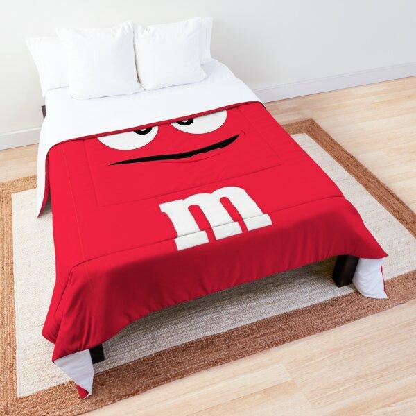 Red M&M Comforter