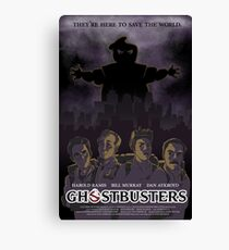 Ghostbusters - Poster Version Canvas Print