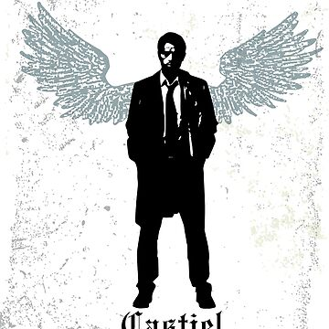 Castiel by hellhoundpit