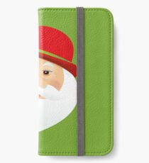 British Santa Claus  iPhone Wallet/Case/Skin