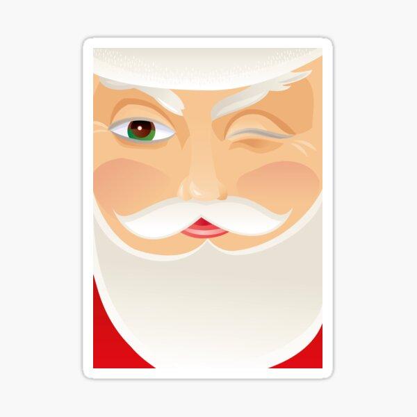 Santa Claus Glossy Sticker