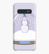 Snowman in Globe Ball Case/Skin for Samsung Galaxy