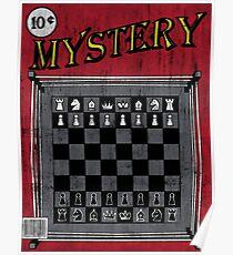 Póster Da Misterio de Chessboxin '