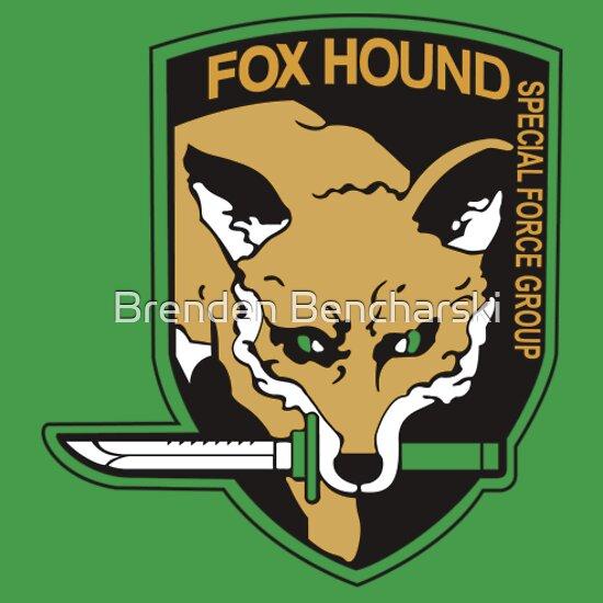 TShirtGifter presents: Metal Gear Solid-Foxhound symbol