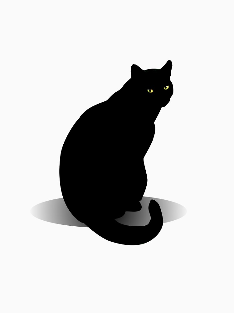 Basic Black Cat by DolphinPod