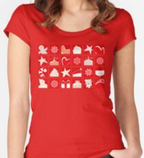 Christmas Time! Fitted Scoop T-Shirt