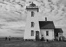 A Lighthouse in Prince Edward Island, Canada by Gerda Grice