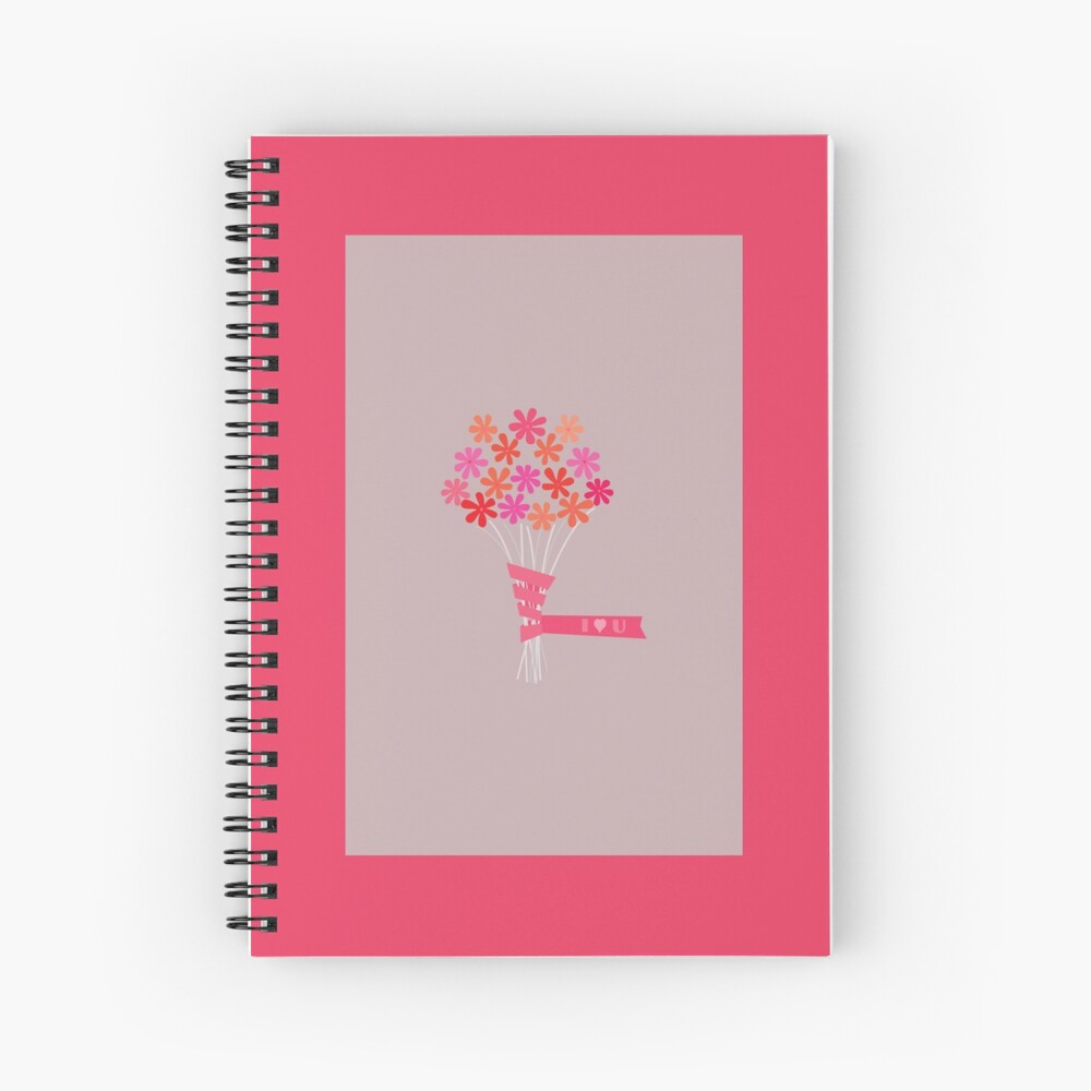 Flowers for You! Spiral Notebook