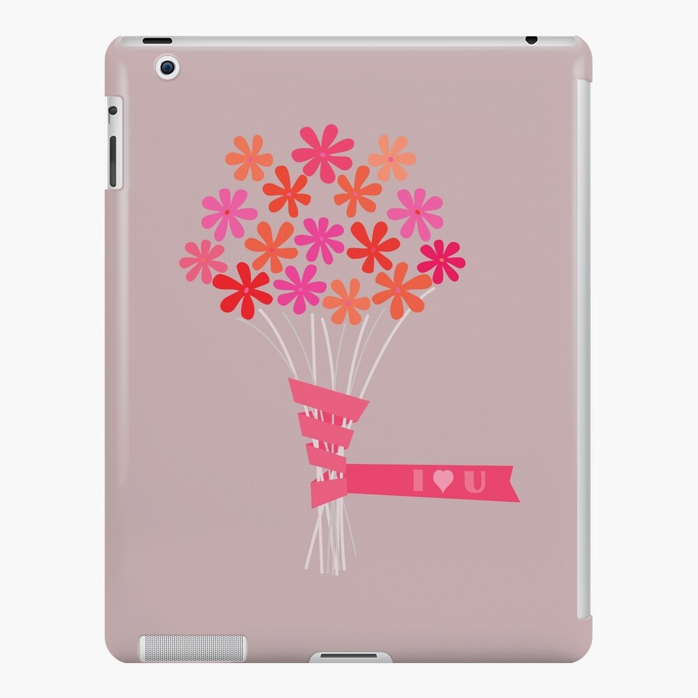 Flowers for You! iPad Case & Skin